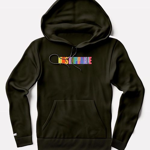 Unstoppable colored life hoodie