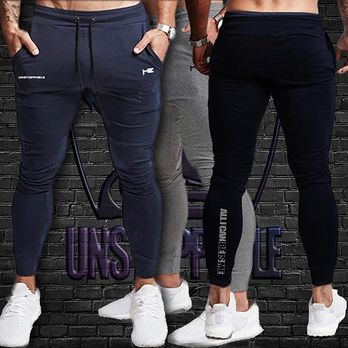 Unstoppable light weight fitted Joggers