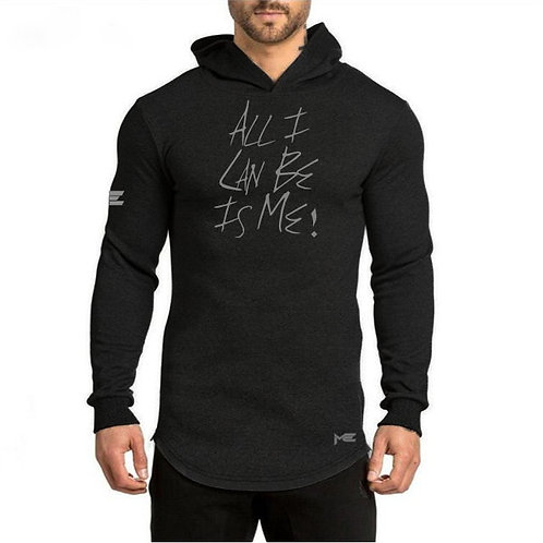 Original All I Can Be Is ME Muscle gym hoodie