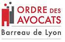 logo ordre des avocats Barreau de Lyon.p