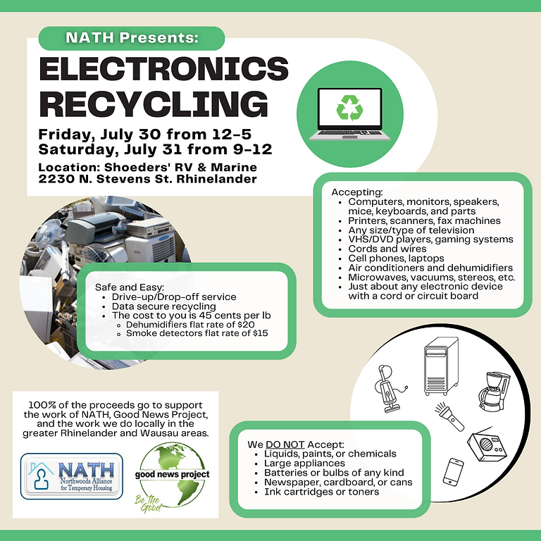 Electronic Recycling Event