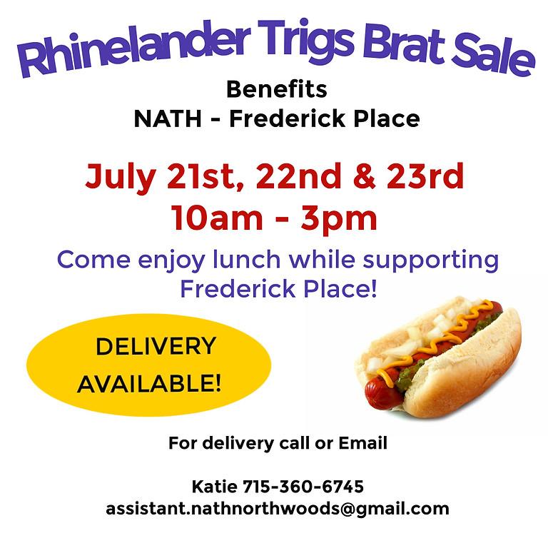Brat Sale - Trigs - Rhinelander