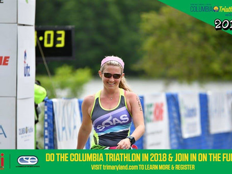 Columbia Duathlon, or as I call it, Columb I gotta climb another hillia Duathlon