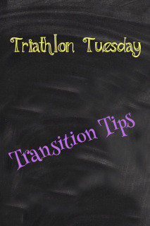 My Top 5 Transition Must Do's