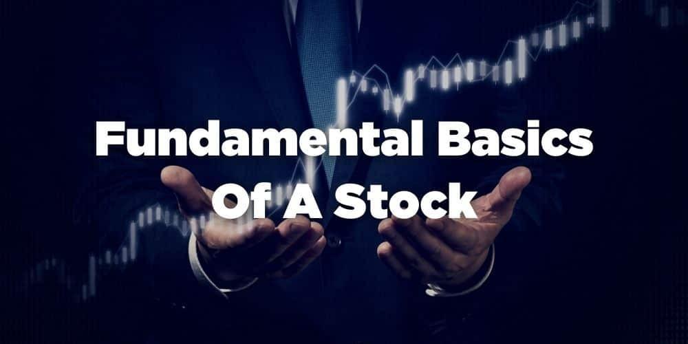 Fundamental basics of a stock