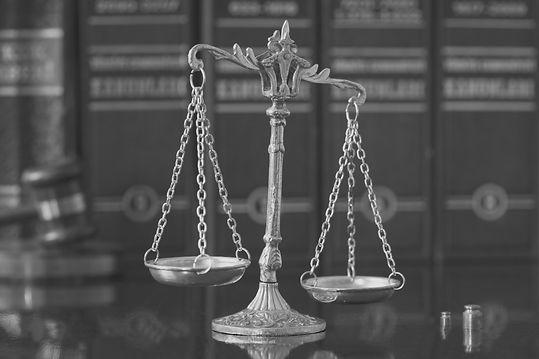 Lawyer Balancing Scale