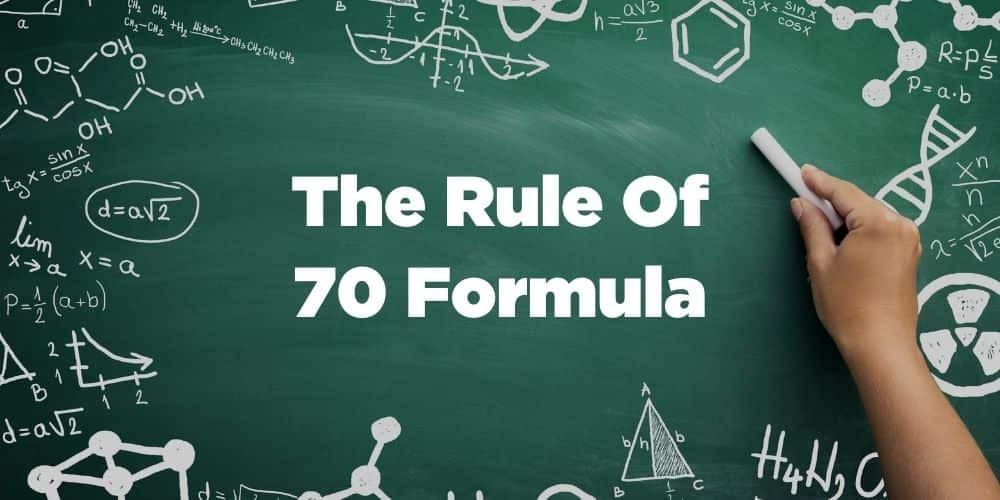 The rule of 70 formula