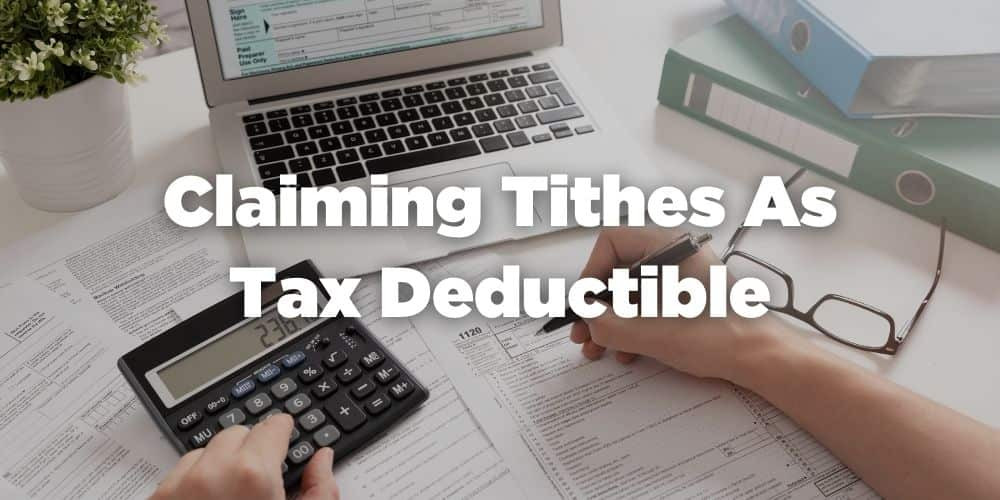 Claiming tithes as tax deductible