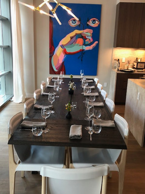 Real Estate, Food & Art: A Multisensory Experience
