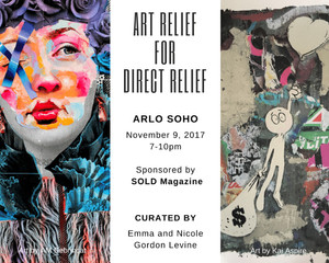 ART RELIEF FOR DIRECT RELIEF: Charity Event for Direct Relief