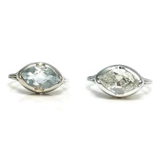 Antique wedding ring reset