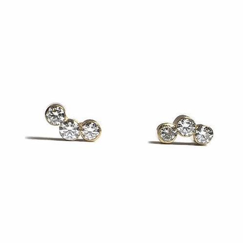 Curved Stone Studs
