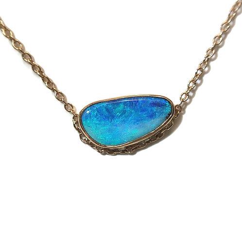 Boulder Opal Veza Necklace