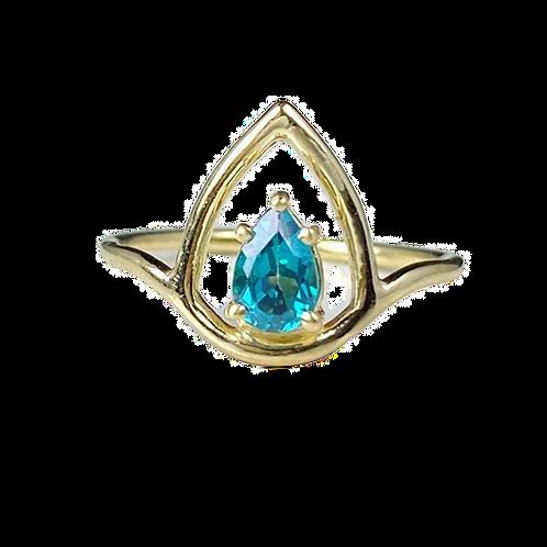 Blue Lotus Ring