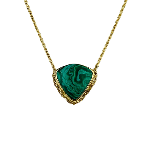 Malachite Veza Necklace