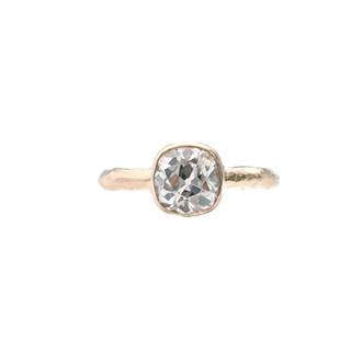 Old Mine cut ring