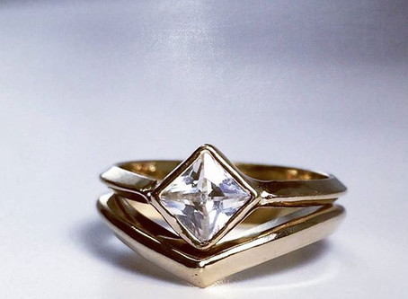 Edgy Engagement rings, The Spruce
