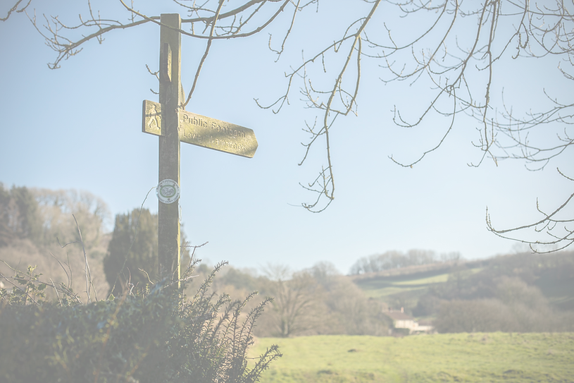 Pub with circular walks in the Blackdown Hills