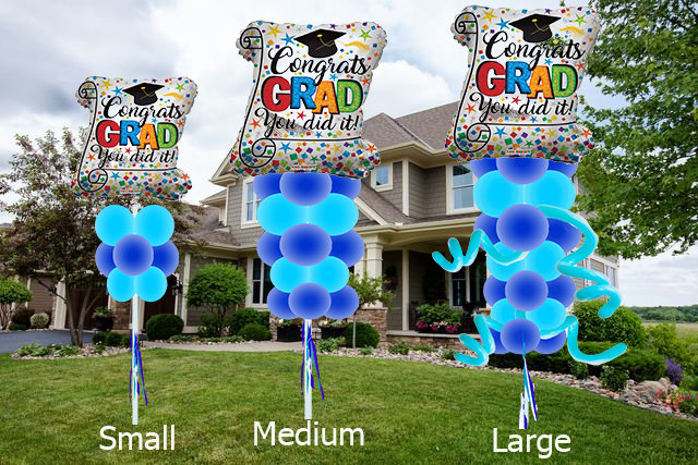 Balloon Art Graduate Theme (Starting at 35$)