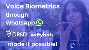 ID R&D y SimpleTECH lanzan la primera implementación mundial de autenticación por voz en WhatsApp