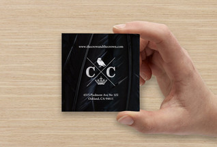 The Crow & The Crown Business Card