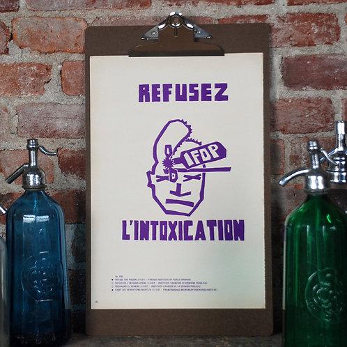 Atelier Populaire Poster Print: L'Intoxication