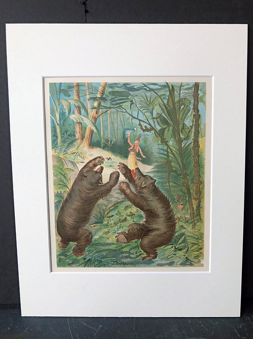 Baron Munchausen and the Bears