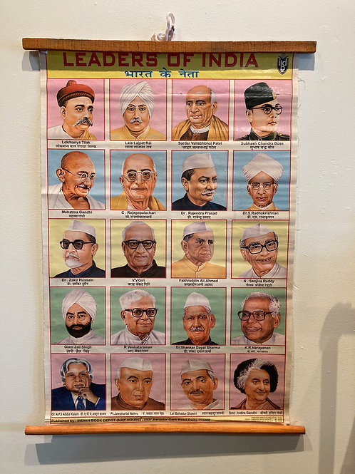 Vintage Leaders of India Chart