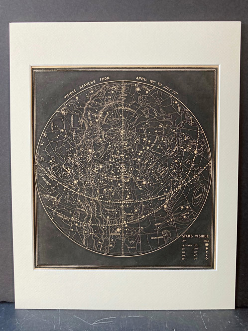 Smith's Illustrated Astronomy: Visible Heavens April-July