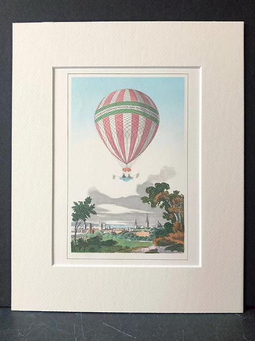 Balloons: Pink Stripe