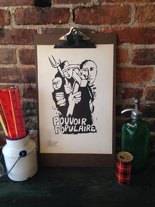 Atelier Populaire Poster Print: Pouvoir Populaire