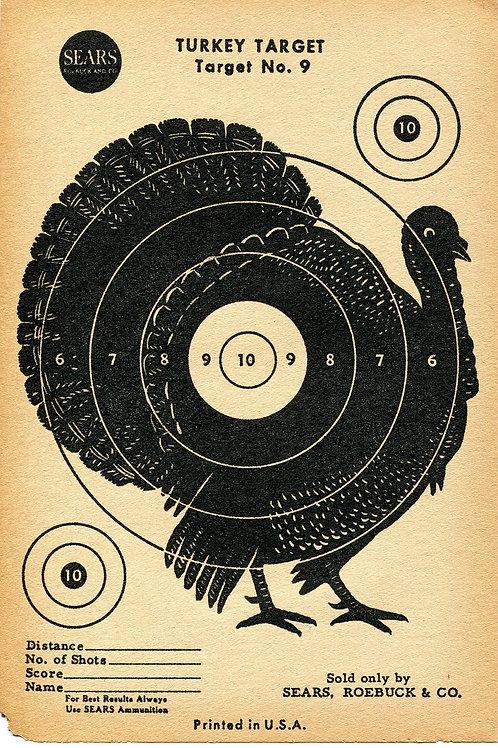 Vintage Shooting Target/Turkey