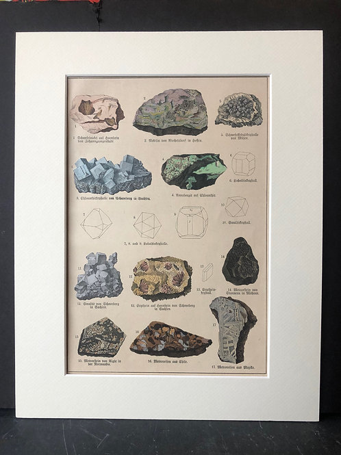 Schubert's Mineralogie: Quartz