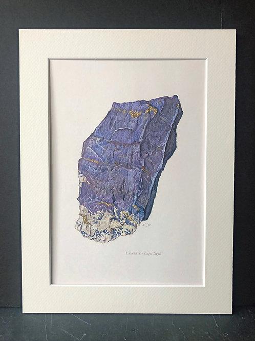 Lapis Lazuli, C. Caspari, 1967