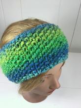 Knitted Seed Stitch Headband