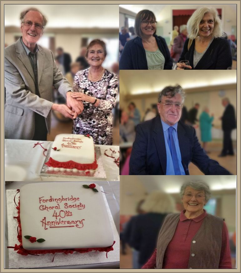 Recent 40th Anniversary Social