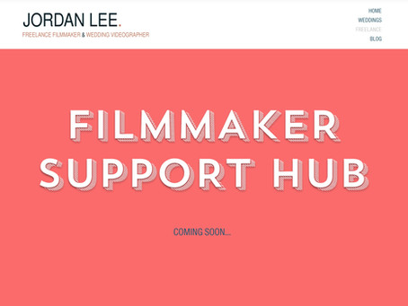 Coming Soon... The Filmmaker Support Hub!