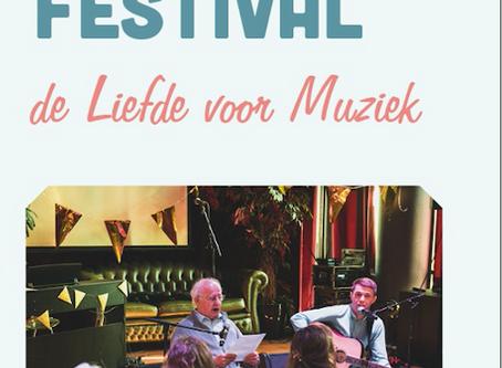 Vrijdag 21 juni - Huiskamerfestival de Liefde voor Muziek