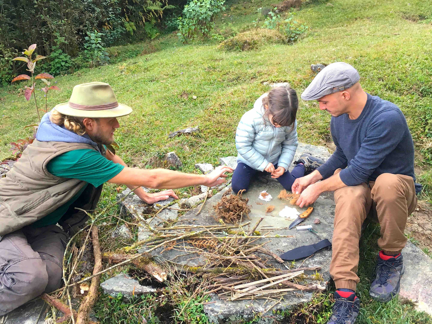 Primitive fire workshop with the Cosy Fa