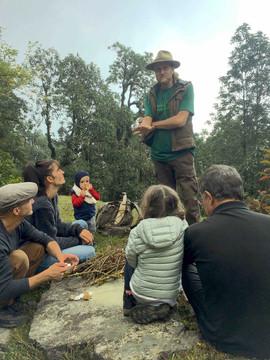 Family wild camp week-end at Panchasi.jp
