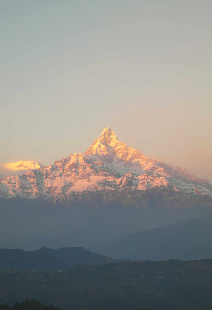 Machhapuchhare by sunset.jpg