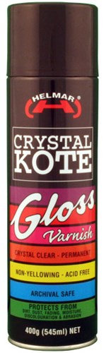 Helmar Crystal Kote Gloss Varnish