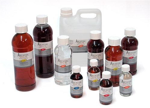 Archival Oil Odourless Solvent