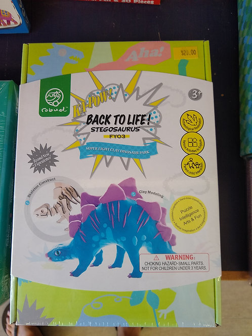 Back-to-Life Stegosaurus