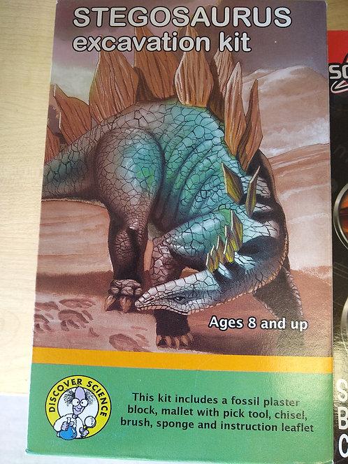 Stegosaurus Excavation Kit