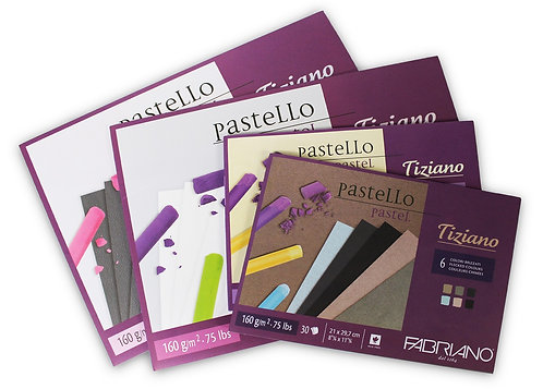 Fabriano Tiziano Pastel Paper Pads 160GSM