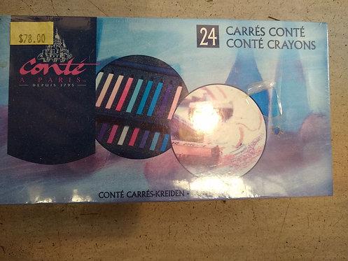 Conte 24 Crayon Set