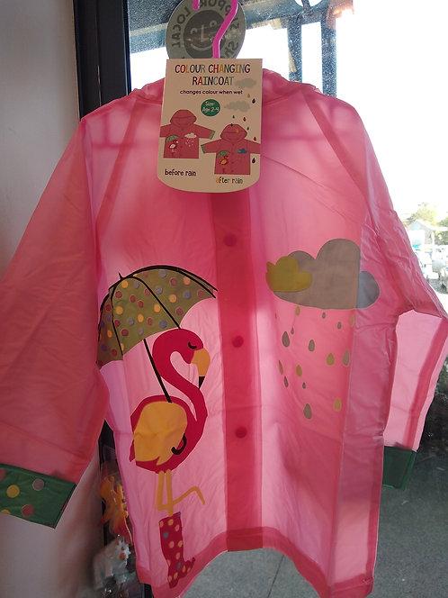 Colour Changing Raincoat