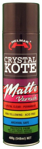 Helmar Crystal Kote Matt Varnish
