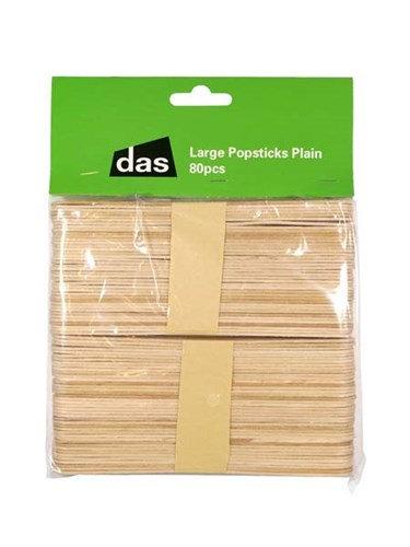 Popsticks Plain Large 80pc
